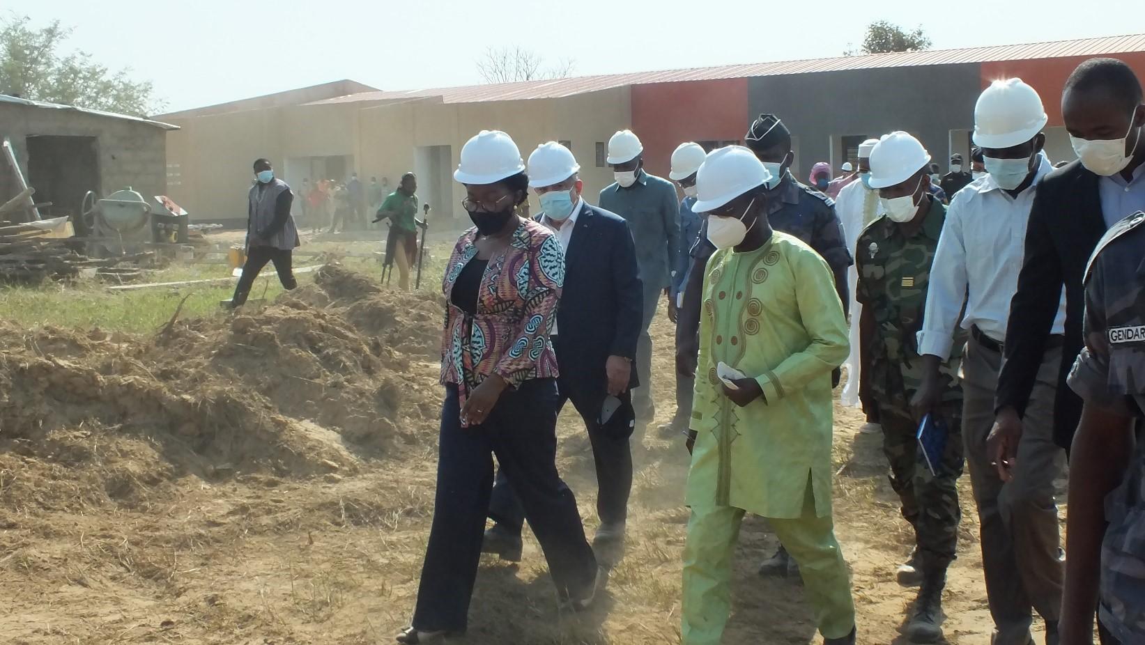 IFAD-Elevage de Barkoissi : Madame le Premier Ministre en visite de chantier est « impressionnée et satisfaite »